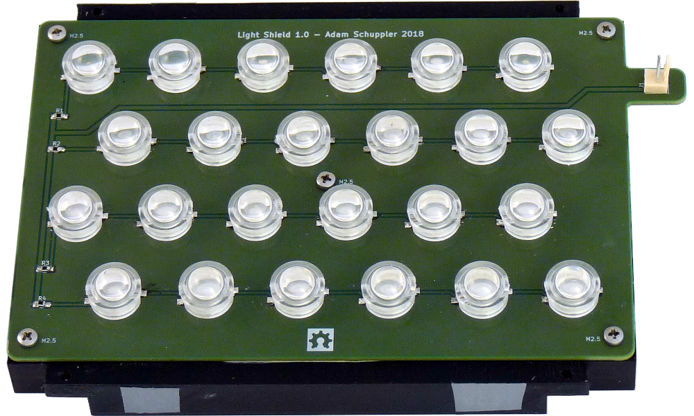 UV LED array